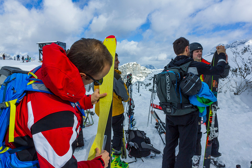 ski touring course induction