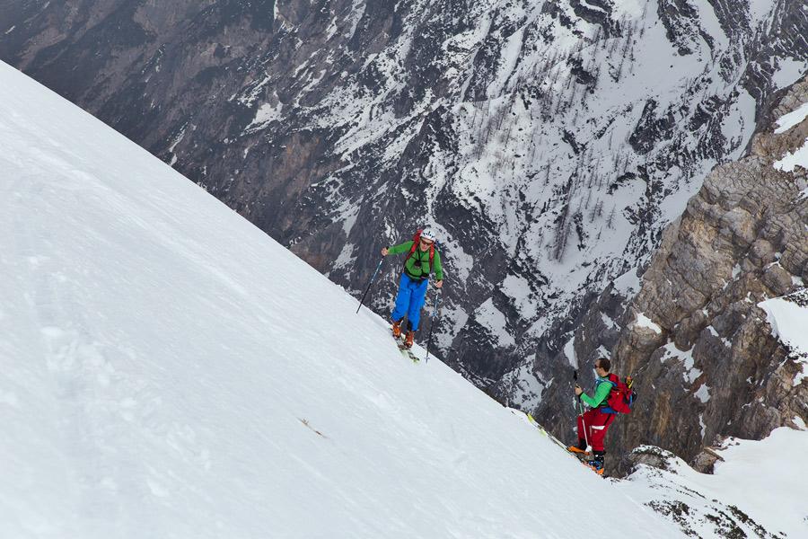 ski touring veliki draski vrh