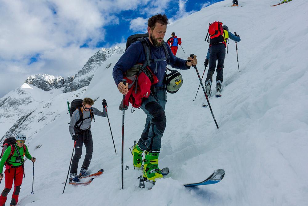 ski touring trip in slovenia