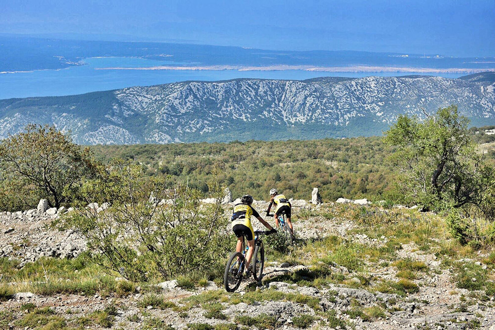 croatia activity holiday mountain biking
