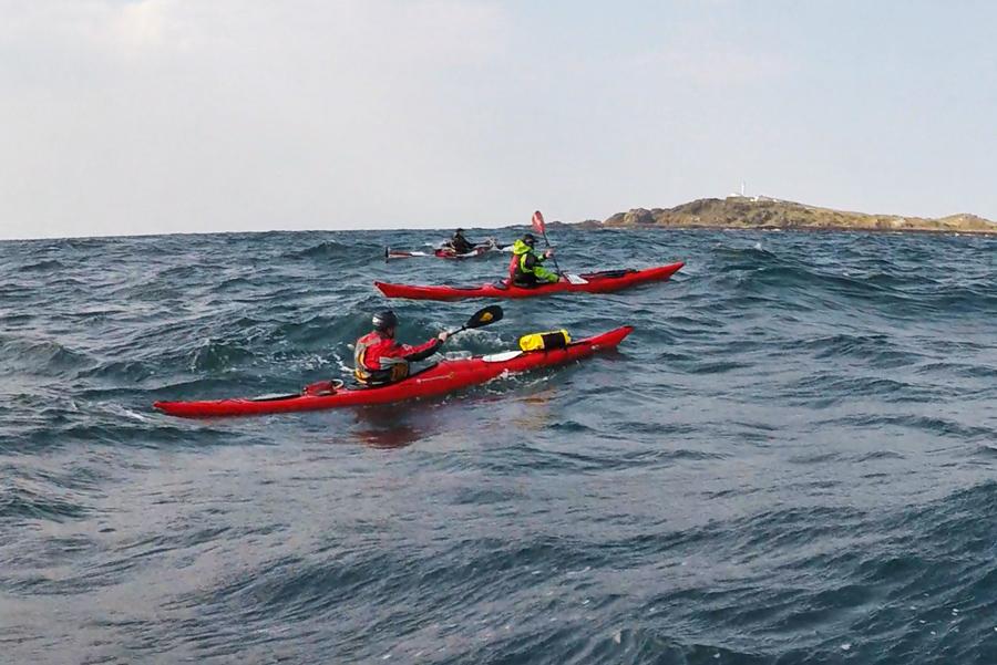 sea kayaking inishtrahull