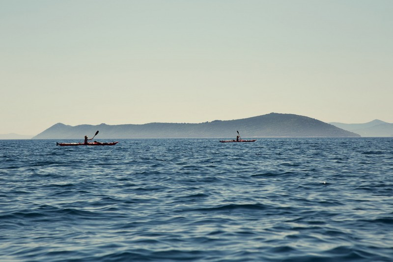 Sea kayaking in Croatia 04