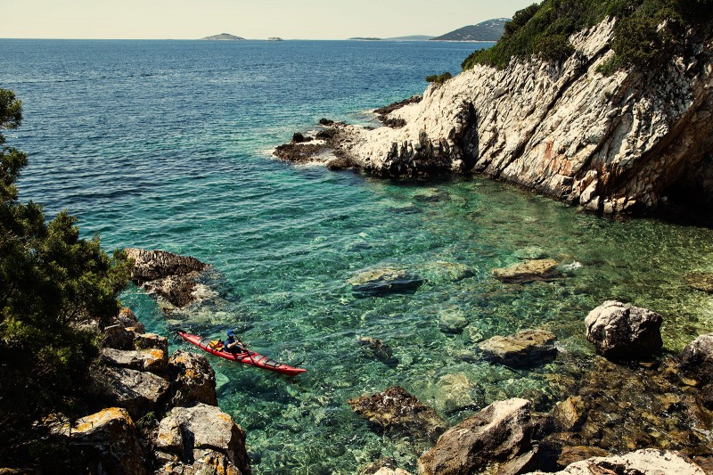 Sea kayaking in Croatia 02