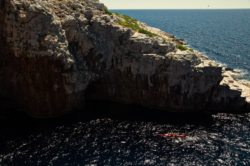 Sea kayaking in Croatia 12