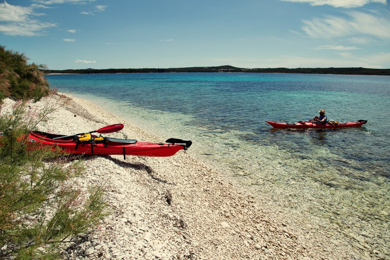 Sea kayaking in Croatia 10
