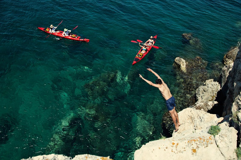 Sea kayaking in Croatia 08