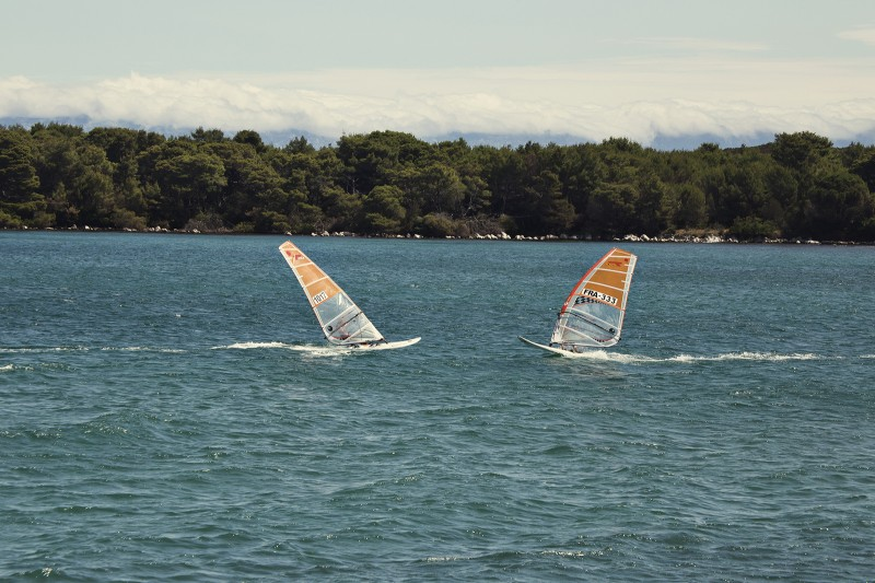 Active adventure on island around Zadar