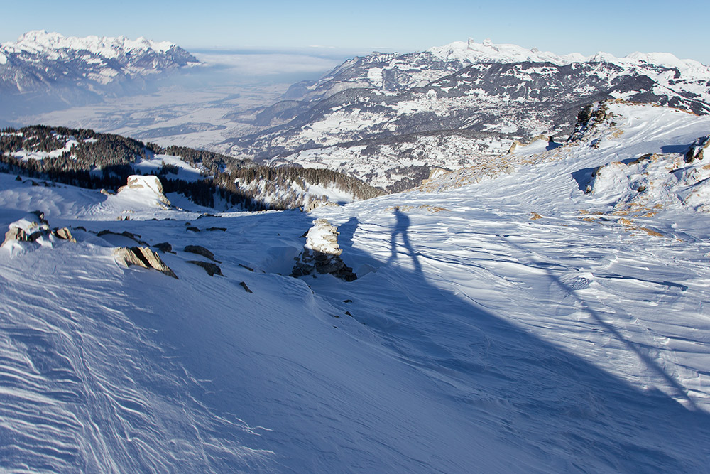 ski touring adventure trip in the swiss alps
