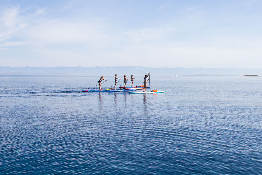 sup adventure holiday in croatia