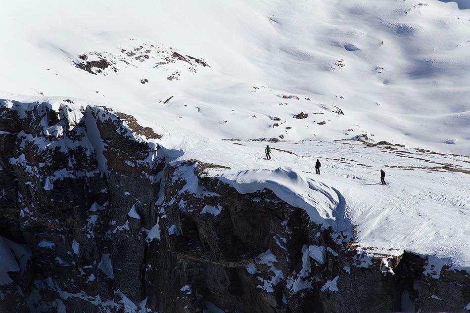 dent de morcles skitouring