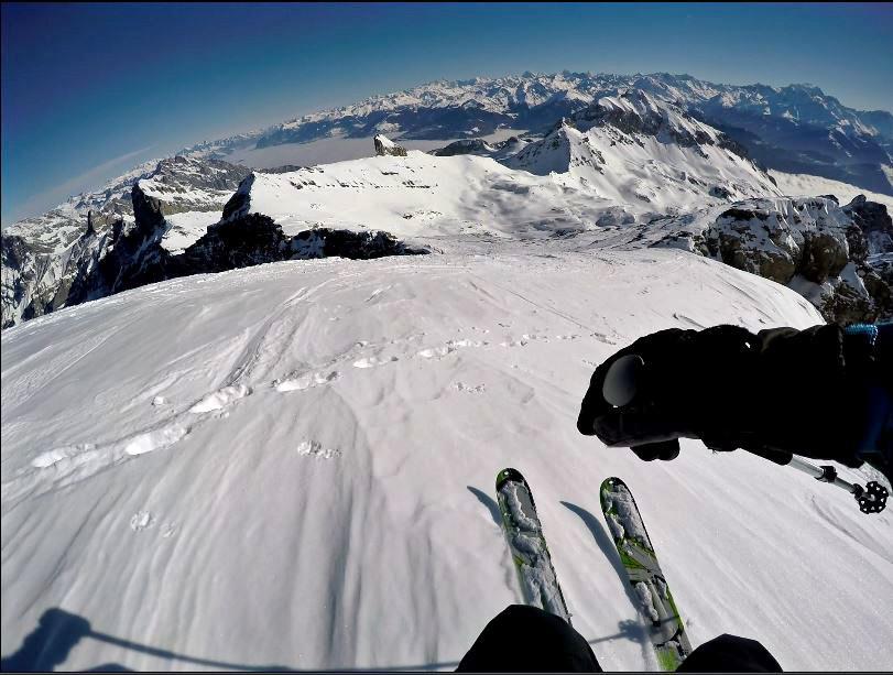 ski touring dent de morcles