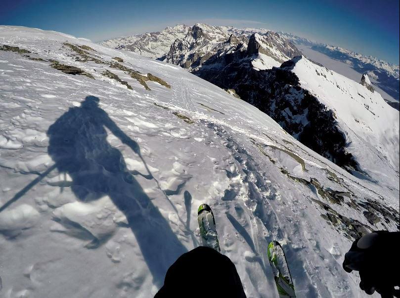 dent de morcles skiing