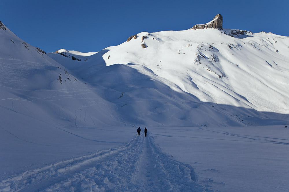 ski touring alps