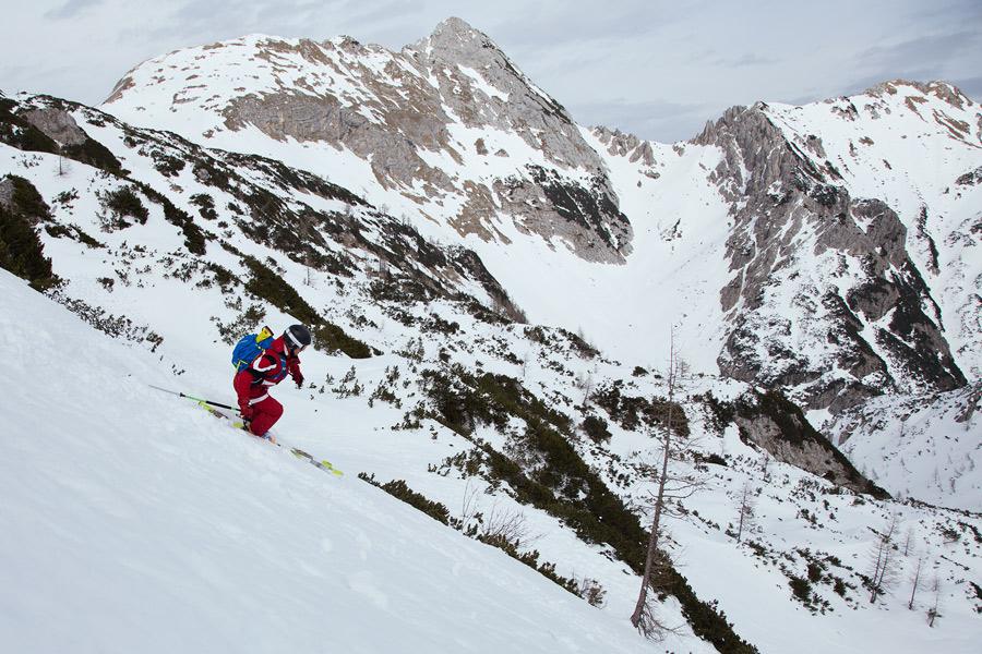 ski touring course Slovenia