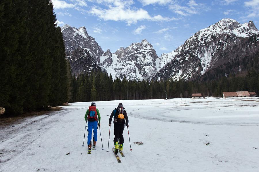 ski touring mangart