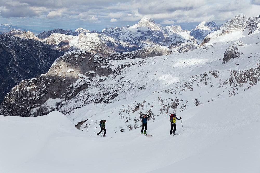 ski touring slovenia
