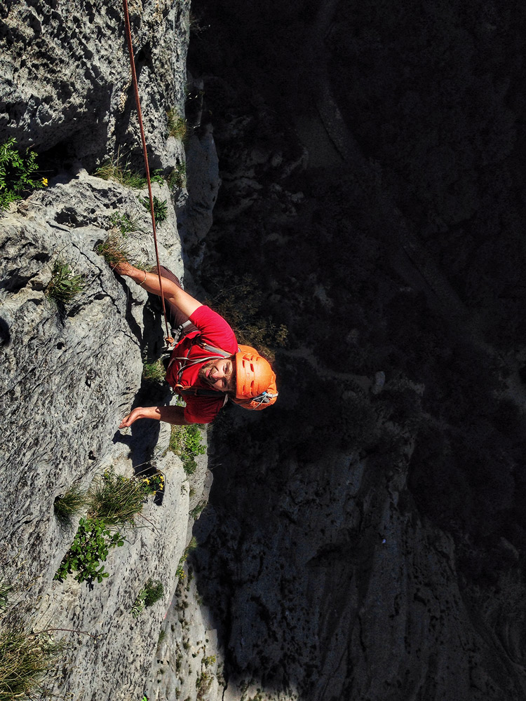 6_Multipitch_climb_paklenica_gorge