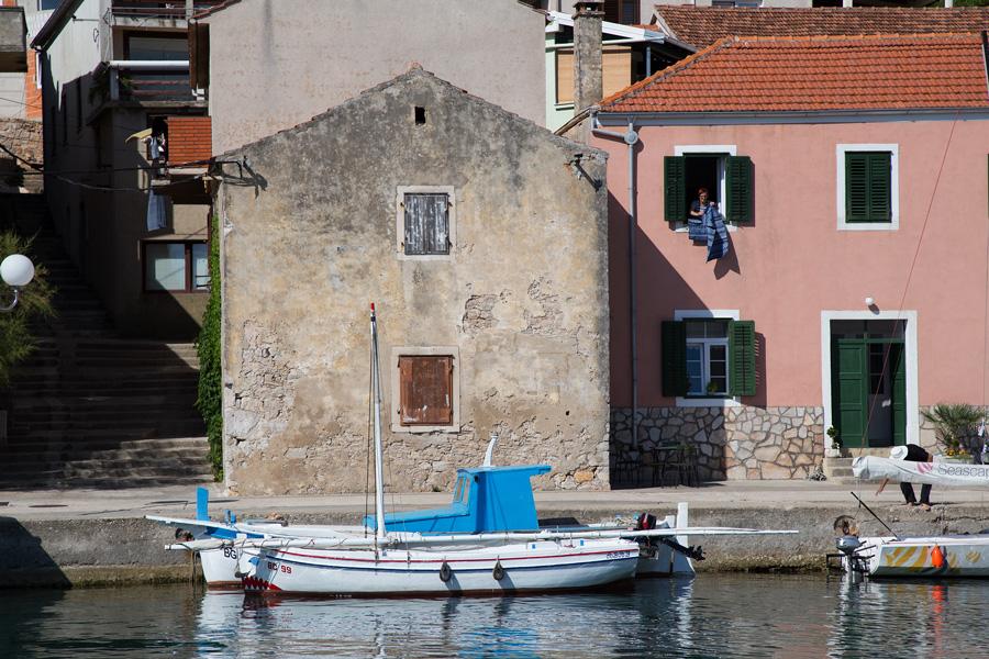 village Sali in Croatia