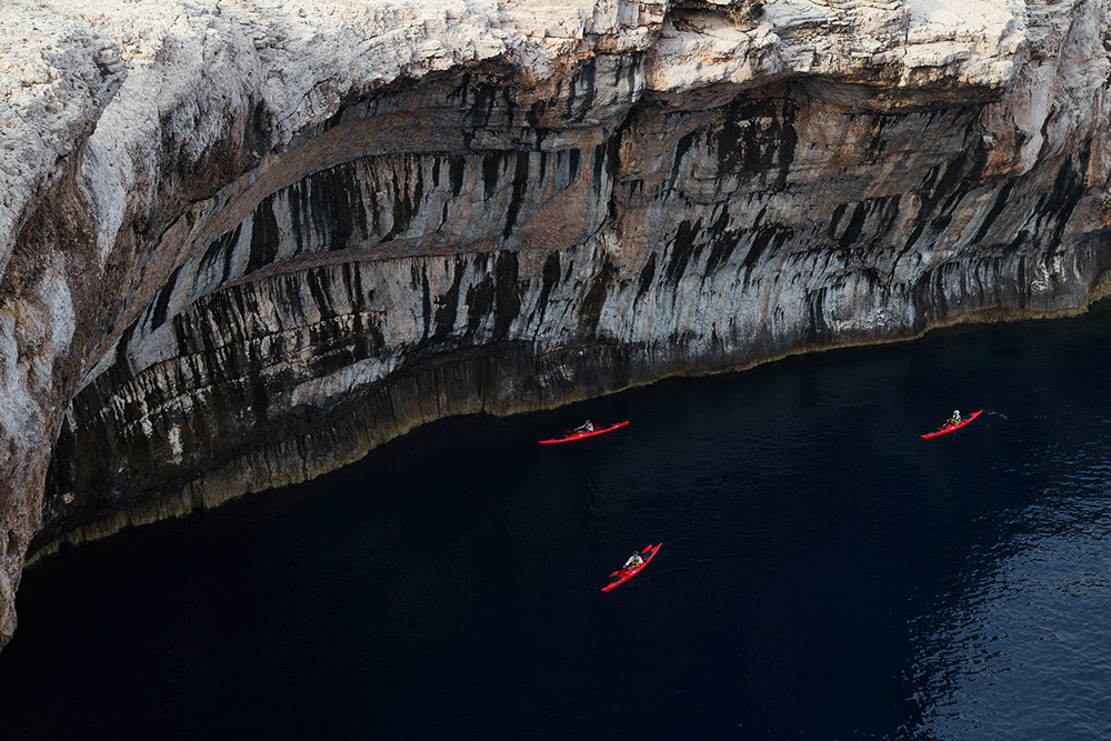 croatia activity holiday kayaking on kornati