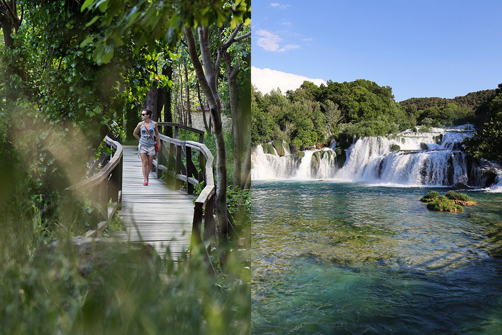 croatia adventure holiday in krka national park