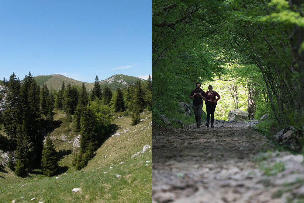 croatia adventure holiday in sjeverni velebit national park