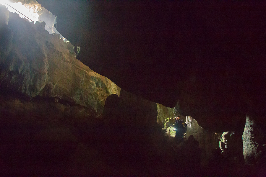 adventure holidays in croatian cave