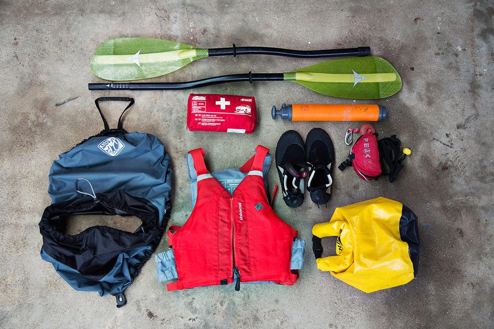 sea-kayaking-gear-in-croatia