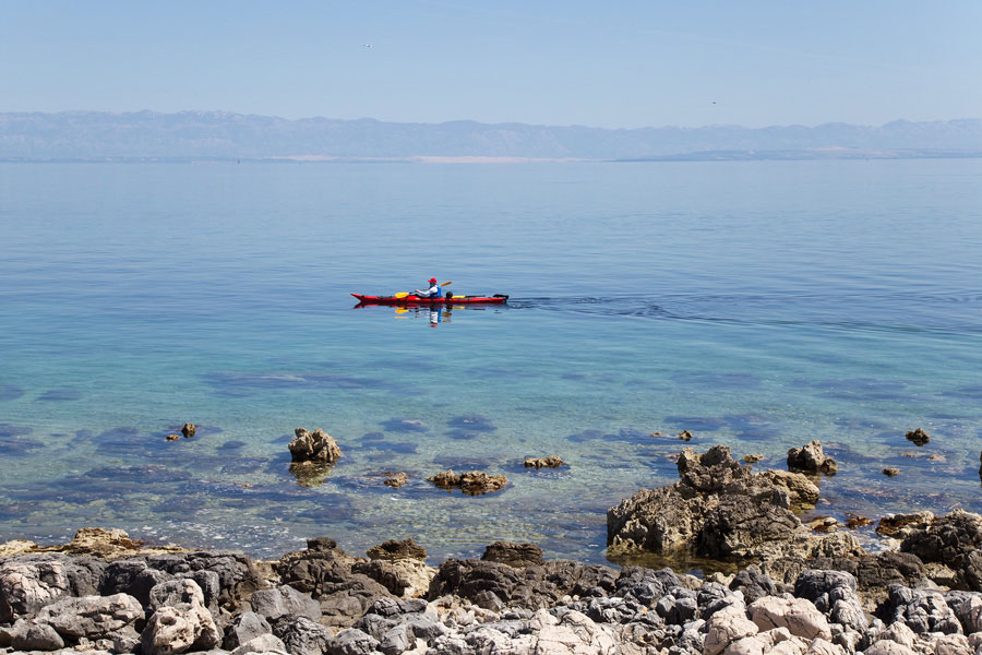 sea kayaking croatia holiday