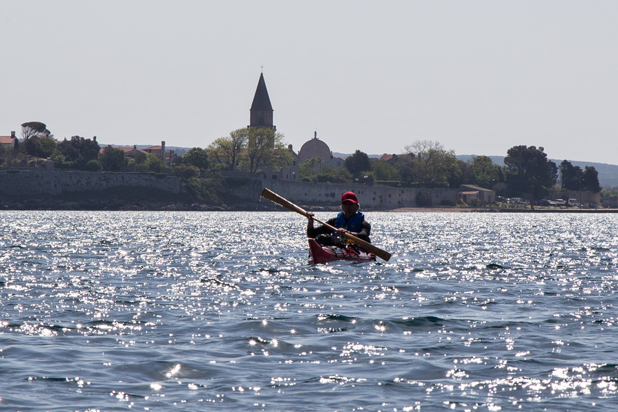 kayaking osor on cres