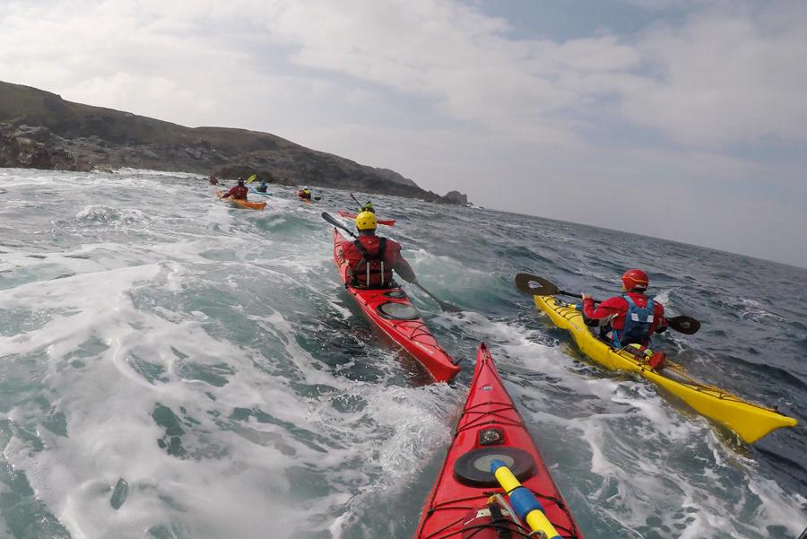 sea kayaking ireland